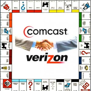 Comcast Verizon Monopoly